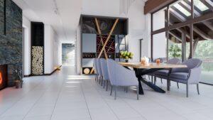 elegancki salon w projekcie i aranżacji abrys