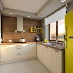 ciepły i przytulny projekt kuchni