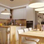 kuchnia z jadalnią i salonem od abrys