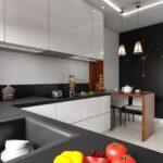 projekt kuchni abrys