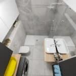 górny kadr projektu łazienki