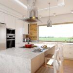 otwarta kuchnia projekt abrys