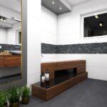 łazienka - projekt aranżacji ABrys